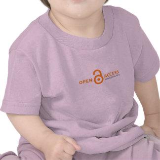 Creeper da criança do acesso aberto de PLoS Tshirt