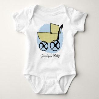 Creeper da criança do carrinho de bebê t-shirt