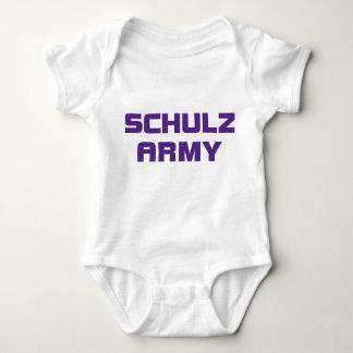 Creeper da criança do exército de Schulz T-shirt