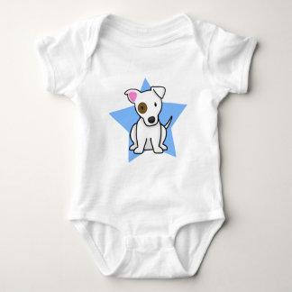 Creeper do bebê de Jack Russell da estrela de Tshirts