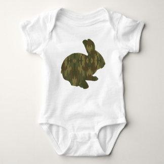 Creeper do coelhinho da Páscoa da silhueta da Camiseta
