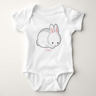 Creeper do coelho body para bebê