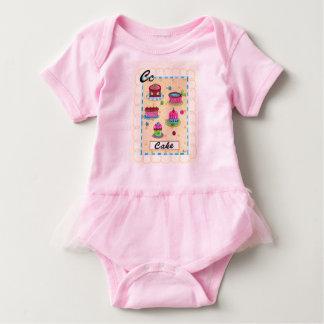 Creeper do tutu body para bebê