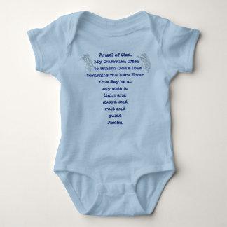 Creeper infantil do onsie do anjo-da-guarda tshirt