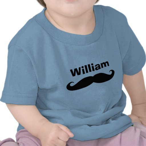 Creepers e camisas pretos do bebê do bigode do gui camiseta