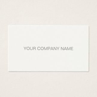 Creme simples elegante profissional moderno da cartão de visitas