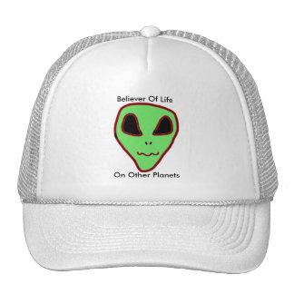 Crente do chapéu dos aliens boné