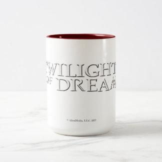 Crepúsculo da caneca do Dois-Tom dos sonhos