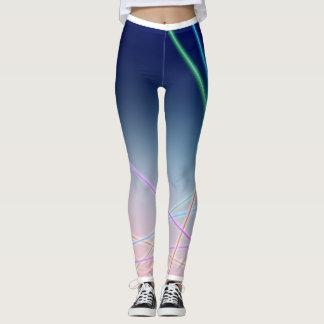 Crepúsculo de néon leggings