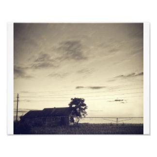 Crepúsculo de Texas Impressão De Foto