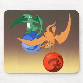 Crepúsculo Mousepad do circo do dragão