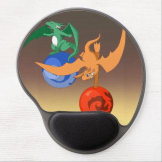 Crepúsculo Mousepad ergonómico do circo do dragão Mouse Pad De Gel