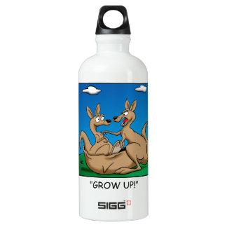 Cresça acima! garrafa d'água de alumínio