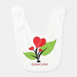 Cresça o babador do amor