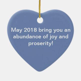 Cresça o ornamento do amor para a prosperidade