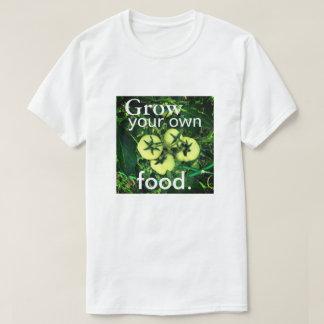 Cresça sua própria comida (homens/unisex) camiseta