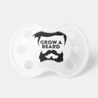 Cresça uma barba então que nós falaremos chupeta