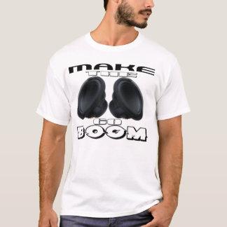 Crescimento do Tshirt da música Camiseta