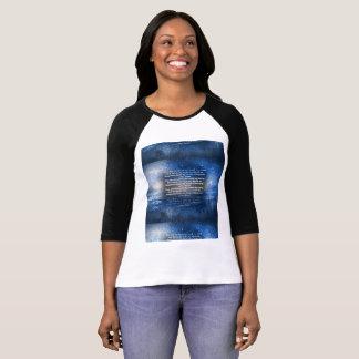 Crewneck, longo-luva, camisa de algodão para