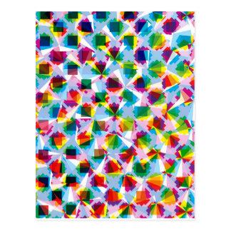 """Criação colorida """"Fortuna """" do teste padrão Cartão Postal"""