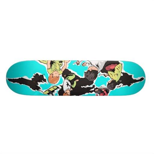 Criação das crianças skate