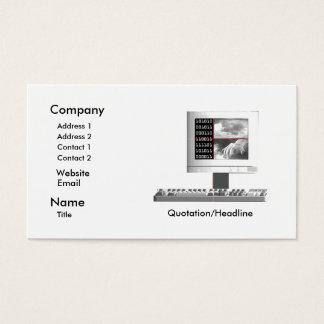 Criação de Digitas - tamanho do negócio Cartão De Visitas