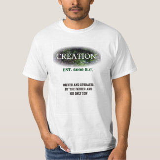 Criação pelo pai e pelo filho camisetas