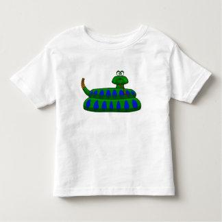 Criança bonito da camisa do menino do cobra dos
