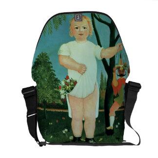 Criança com um fantoche, c.1903 (óleo em canvas) bolsas mensageiro