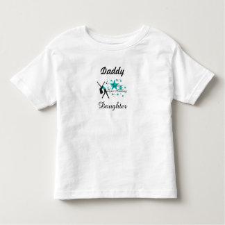Criança da camisa da dança da filha do pai tshirts