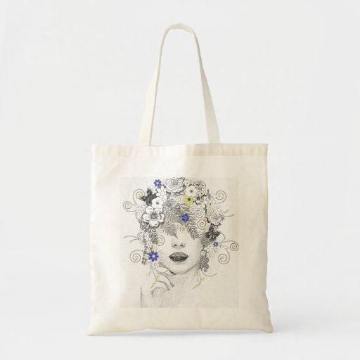 Criança de flor bolsas