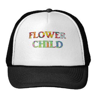 Criança de flor boné