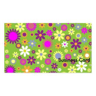 Criança de flor cartão de visita