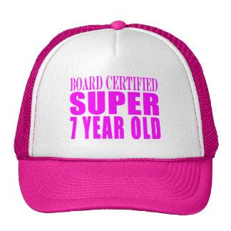 Criança de sete anos de B. Certified Super dos Boné