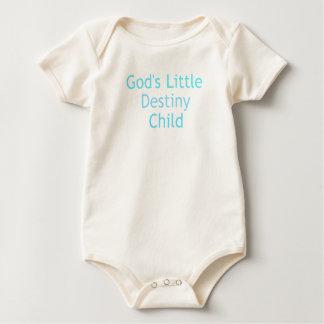 Criança do destino body para bebê
