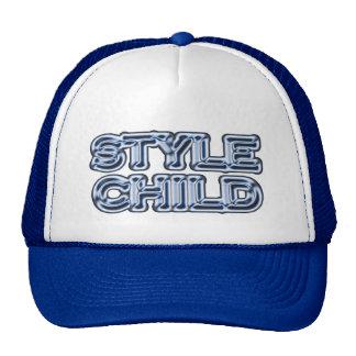Criança do estilo boné