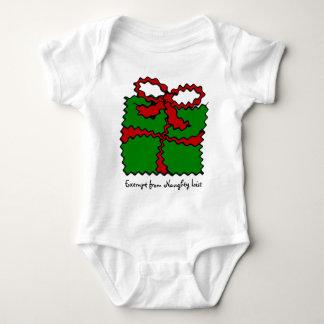 Criança do humor do Natal T-shirts
