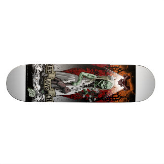 criança do zombi do skate