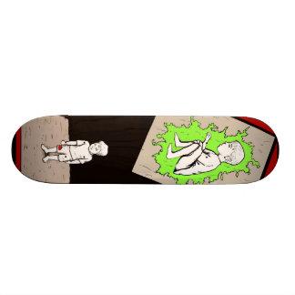 criança do zombi skateboard