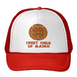 Criança doce de maia boné