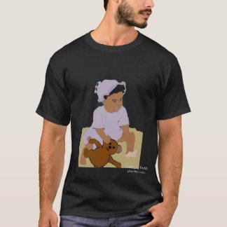 Criança e t-shirt do Mais-Size do ursinho Camiseta