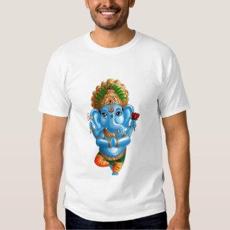 Criança Ganesha em uma pose da ioga de Vrksasana ( Tshirts