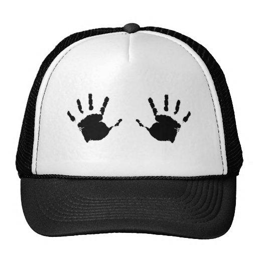 Criança Handprints Bone