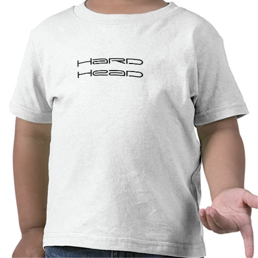 Criança principal dura T Tshirts