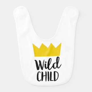 Criança selvagem babador