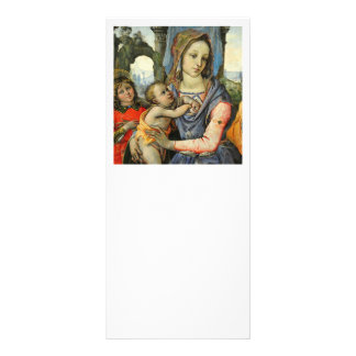 Criança St Joseph do cristo de Madonna e anjo Panfleto
