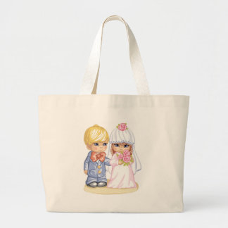 Crianças do casamento bolsas de lona