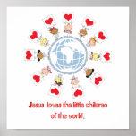 Crianças do mundo pôsteres