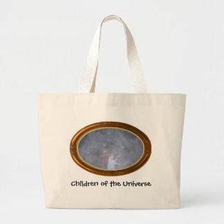 Crianças do universo sacola tote jumbo