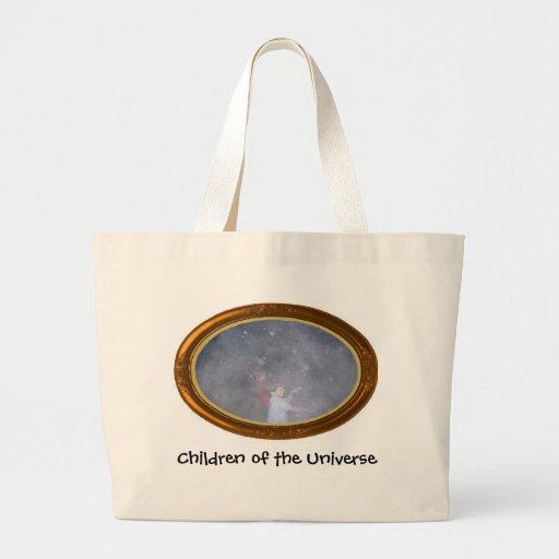 Crianças do universo bolsa para compras